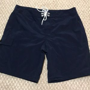 new J Crew board shorts-size 34